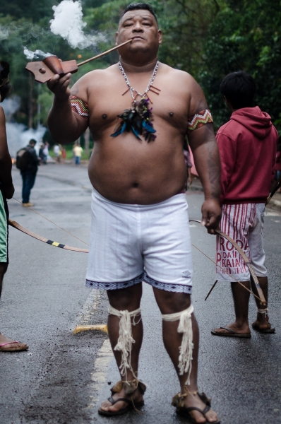 General Strike Brazil: Indigenous Protest